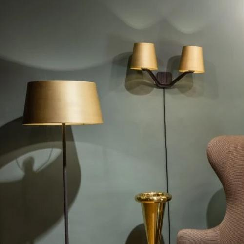 Base Brass Wall Light by Tom Dixon