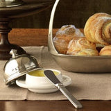 Convivio Butter Dome, Small by Match Pewter