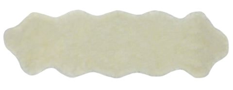 Nouvelle Legende® Faux Fur Sheepskin Rug Duo (20 in. X 67 in.) - White