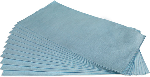 CleanAide® Ultrasonic Cut Glass Weave Microfiber Towel 16 in X 16 in - 12 Pack