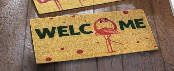 Flamingo Fun Doormat