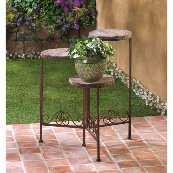 Rustic Triple Pant Stand - Yolis Beauty Barn