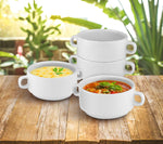 Set of 4 Stack-able Soup Bowls