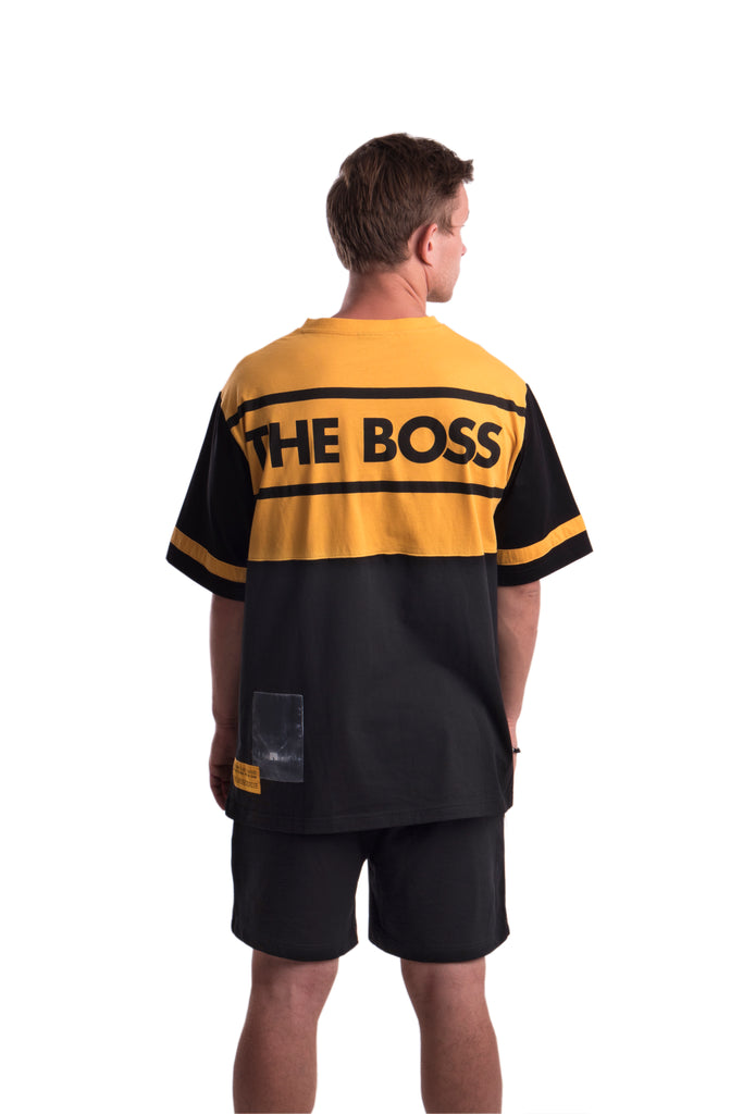 THE BOSS - SHORTS - (BLACK)