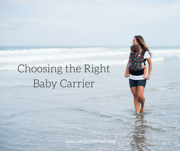 Choosing the Right Baby Carrier