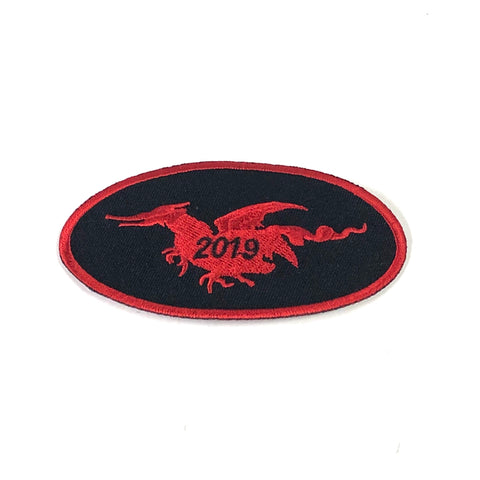 2019 Oval Patch