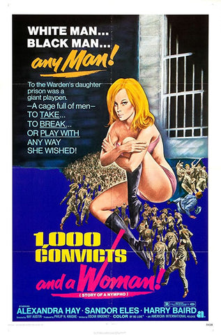 1000 Convicts And A Woman AKA Fun And Games (1971) - Alexandra Hay  DVD