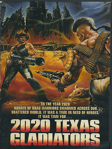 2020 Texas Gladiators (1982) - Al Cliver  DVD