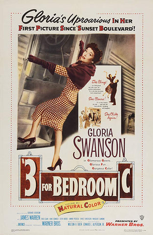 3 For Bedroom C (1952) - Gloria Swanson  DVD