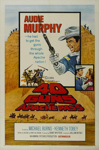 40 Guns To Apache Pass (1966) - Audie Murphy  DVD