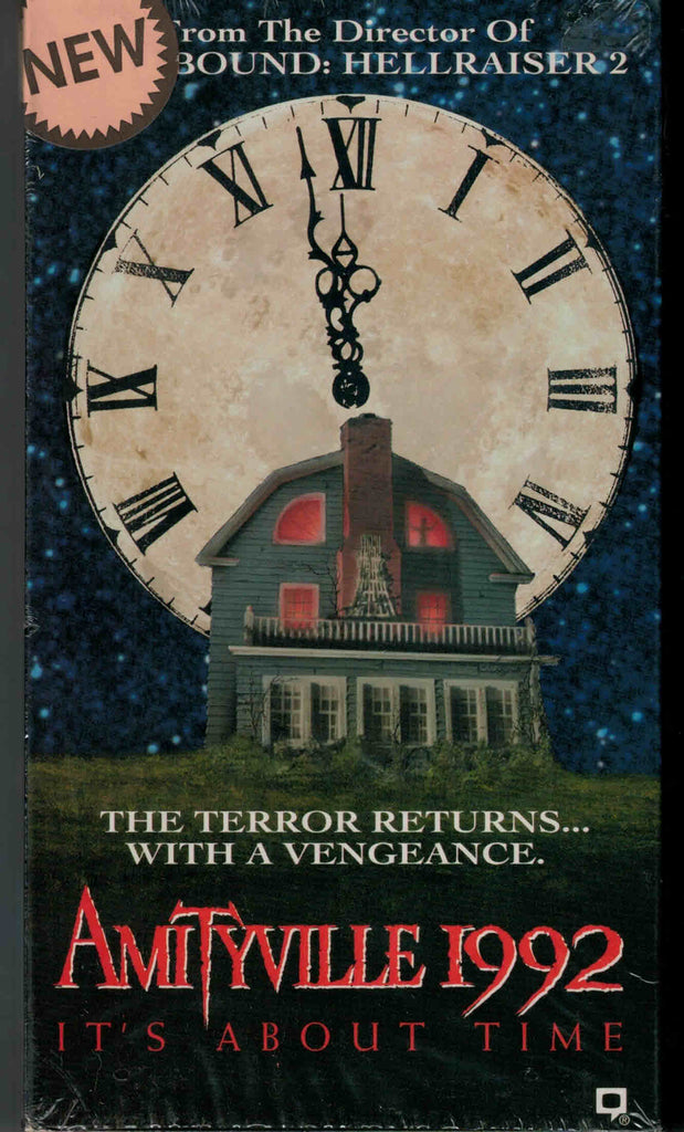 Amityville 1992 : It´s About Time (1992) - Stephen Macht  VHS