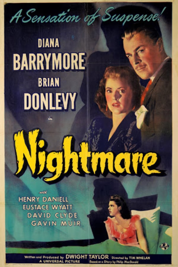 Nightmare (1942) - Brian Donlevy  DVD