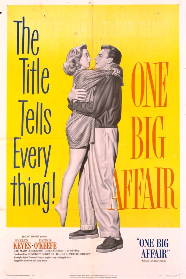 One Big Affair (1952) - Dennis O´Keefe  DVD