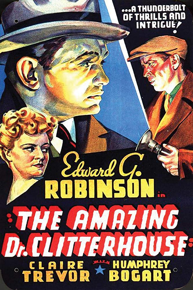 The Amazing Dr. Clitterhouse (1938) - Humphrey Bogart  DVD