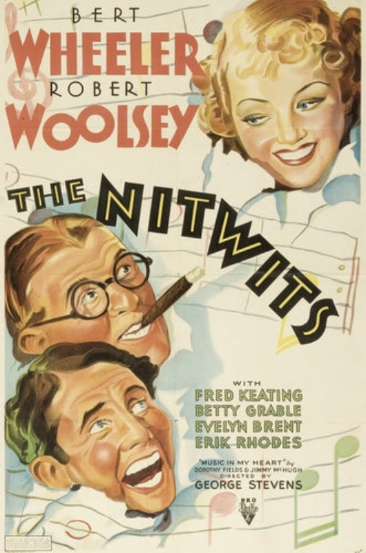The Nitwits (1935) - Wheeler & Woolsey  DVD