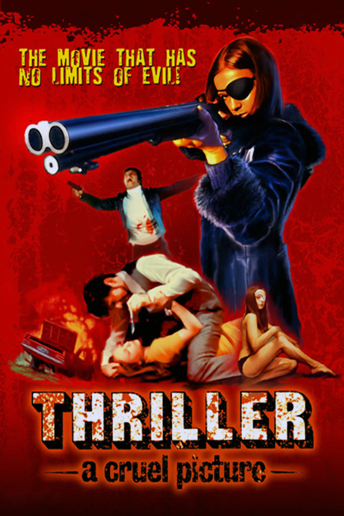 Thriller - A Cruel Picture AKA They Call Her One Eye (1973) - Christina Lindberg  DVD