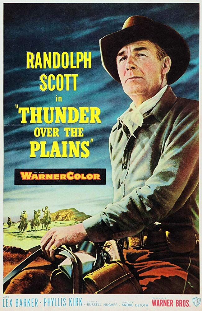 Thunder Over The Plains (1953) - Randolph Scott  DVD