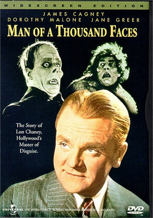 Man Of A Thousand Faces (1957) - James Cagney  DVD