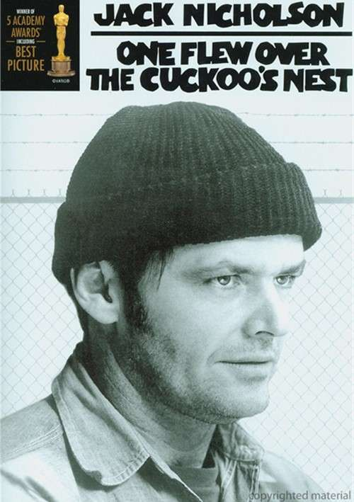 One Flew Over The Cuckoo's Nest (1975) - Jack Nicholson  DVD