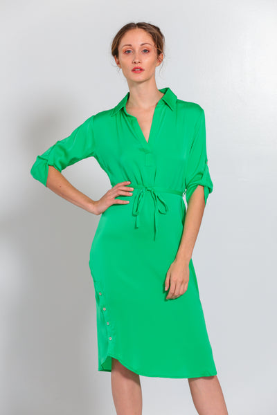 Fiji Dress Tropical Green - Nouvelle
