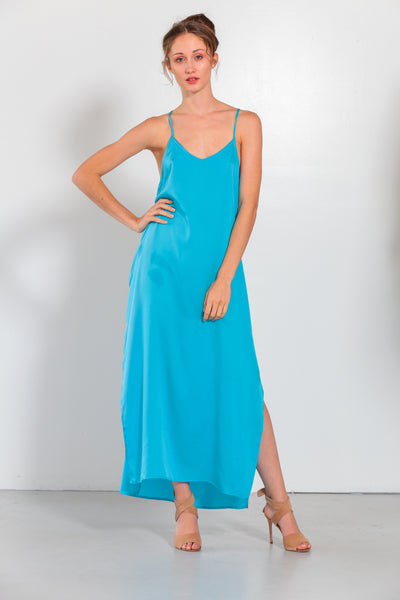 Venus Dress Fountain Blue - Nouvelle