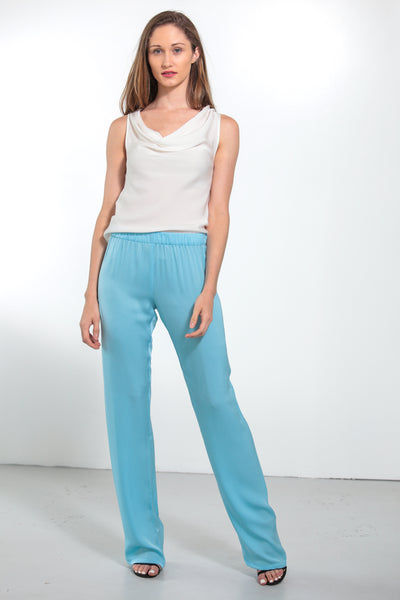 Pallazzo Pants Shore Blue - Nouvelle