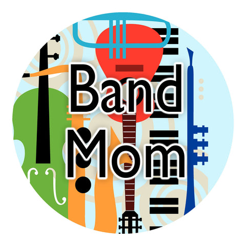 Band Mom Sticker
