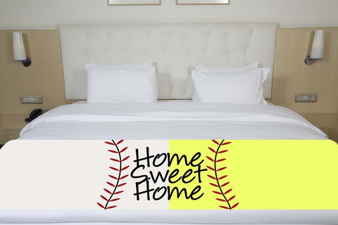 Baseball/Softball Bed Runner