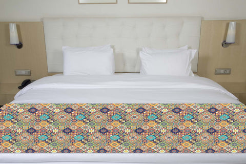 Colorful Quilting Design Bed Runner