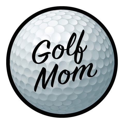 Golf Mom Sticker