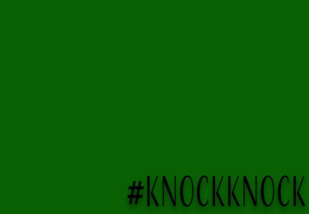 #knockknock Welcome Mat