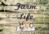 Farm Life Welcome Mat