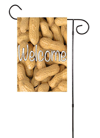 Welcome - Peanuts Garden Flag