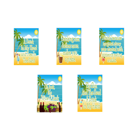 Day Drinking Garden Flag Bundle