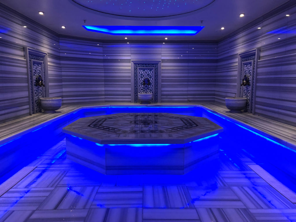 Turkish hammam experience is one of a kind