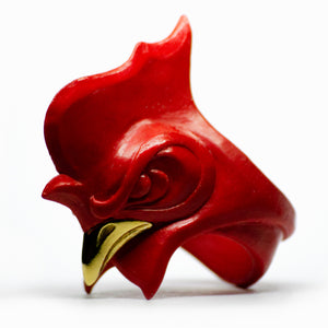 RED ROOSTER RING