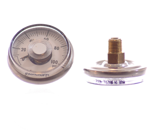 Ashcroft Gauge - 0-100 PSI - Regulators - Palmers Pursuit Shop - Palmers Pursuit Shop