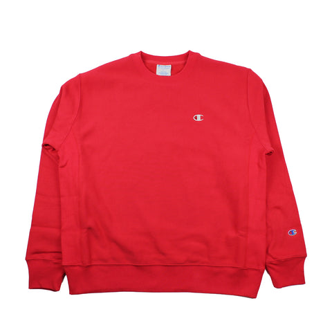 Champion Reverse Weave Crewneck Red