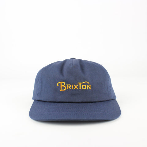 Brixton Wheelie Cap Patriot Blue