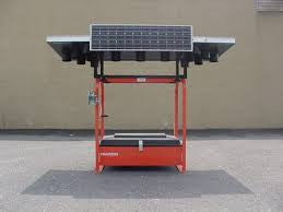"Arrow Board Trailer Replacement Solar Panel - Shell / Arco /Siemens Solar M55 / M75 / SM55 / SM50H - 55 Watts. 50.9"" x 13"""
