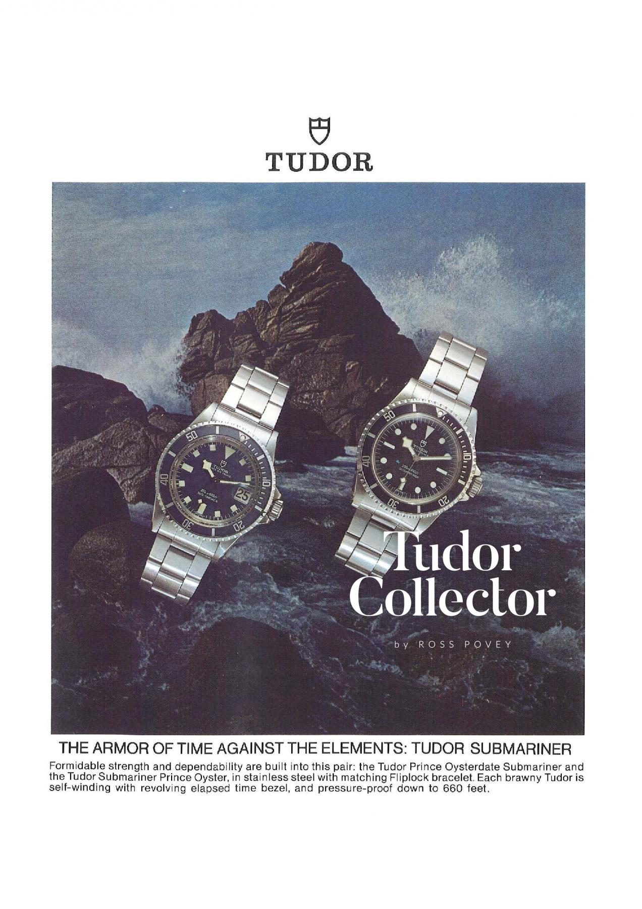 Tudor Hybrid Submariner