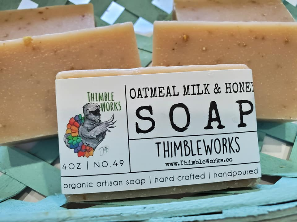 Oatmeal, Milk, and Honey Cold Process Soap
