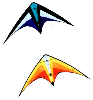 Jewel Stunt Kite with Spectra Line & Wrist Straps