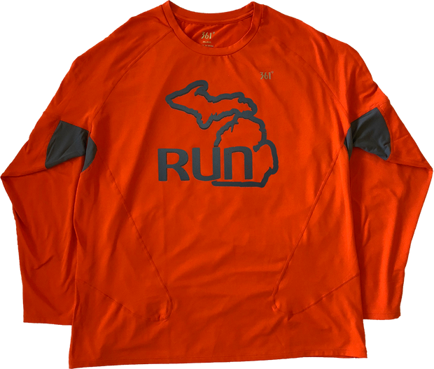 Run the Mitt Long Sleeve Flame (Men)