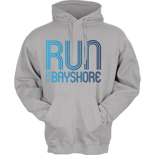 Run Bayshore Hoody Heather Grey (Unisex)