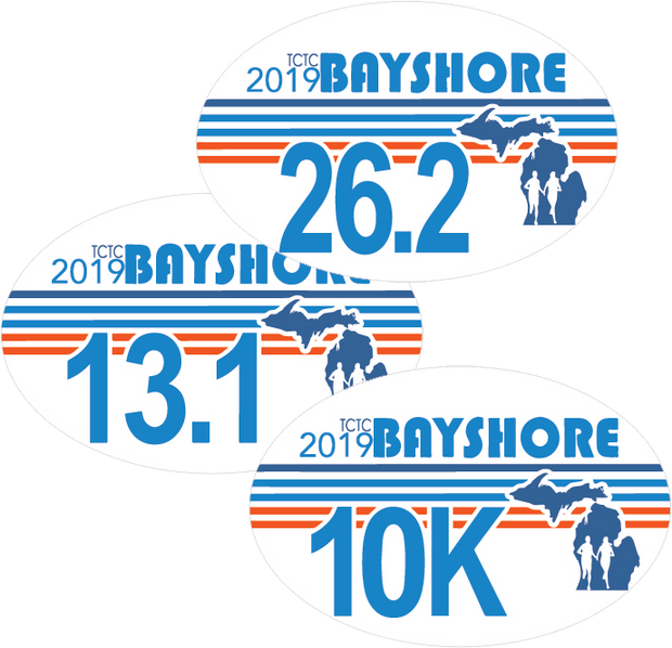 Bayshore 2019 Car Decal Sticker