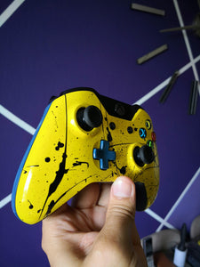 Xbox One Wireless Control - Customizados - Yellow & Black