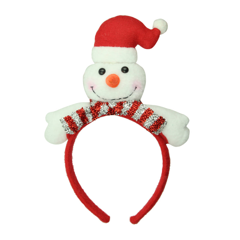 festival hair accessories christmas snowman party hairband 8144