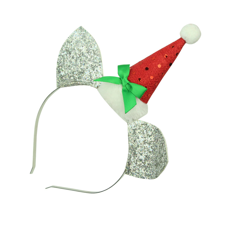 xmas hat cat ears elf hair headband party hair accessories supplies8145