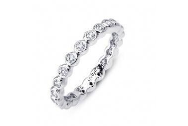 Bezel Set Eternity Band R0120CLP-Farsi Jewelers